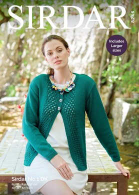 f37d99bff0be Cardigan in Sirdar No.1 DK - 8246 - Downloadable PDF