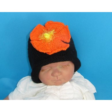 Baby Flower Slouch Hat