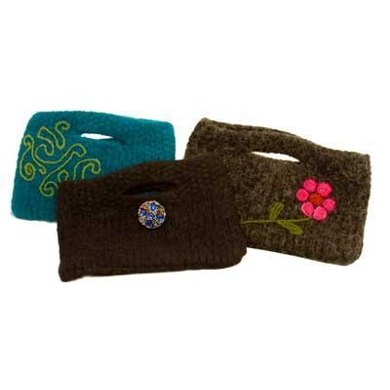 Double-Knit Felted Clutch