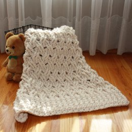 Chunky Baby Blanket