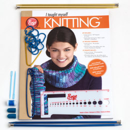 Boye I Taught Myself Knitting Kit