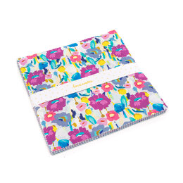 """LoveCrafts Painterly Blooms 10"""" Squares"""