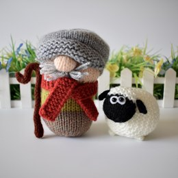 Farmer Drabble and Sheep