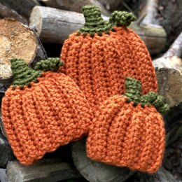 Chunky Pumpkin Farm Hat