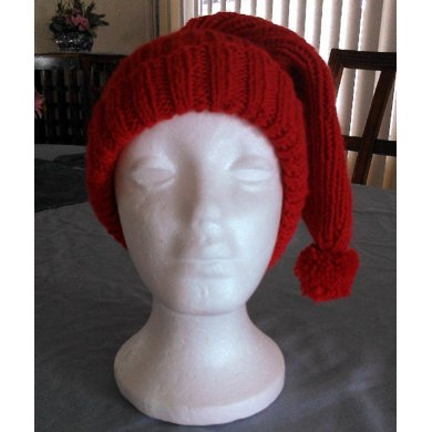 Ribbed Cuffed Stocking Hat
