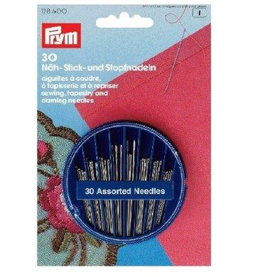Prym Assorted Sewing Tapestry and Darning Needles Compact