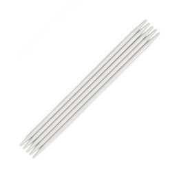 Pony Aluminium Double Pointed Needles 20cm (Set of 5)