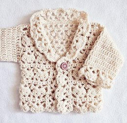 Harriet Lace Cardigan