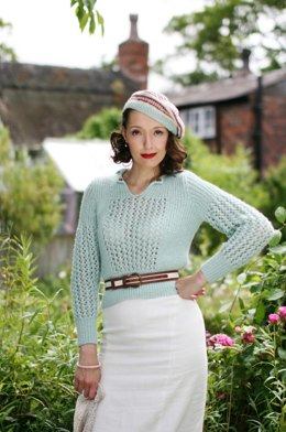 Lady Georgiana's Jumper in Susan Crawford Excelana DK