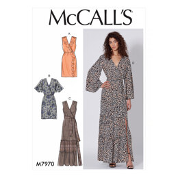 McCall's Misses' Dresses M7970 - Sewing Pattern