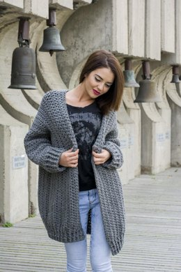 The Bigger The Better Cardigan