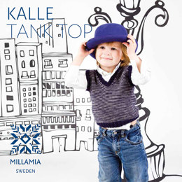"""Kalle Tank Top"" - Top Knitting Pattern For Boys in MillaMia Naturally Soft Merino"