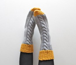 Colour-block Slipper Sock
