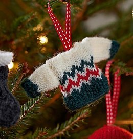 Mini Sweater Christmas Tree Decoration