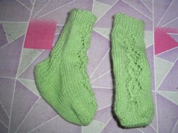 Lace Chain Baby Socks