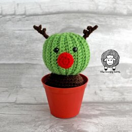 Randy the Cactus Reindeer