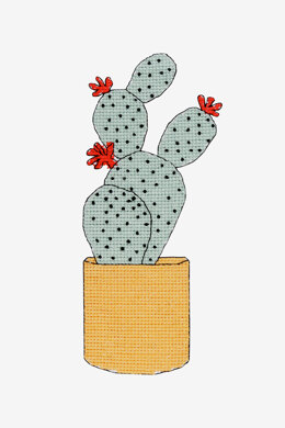 Cactus in DMC - PAT0329 - Downloadable PDF