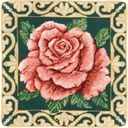 Candamar Tradition Rose Counted Tapestry Kit
