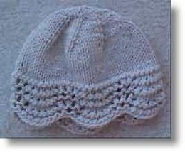 Fan Stitch Hat - - Knit ePattern