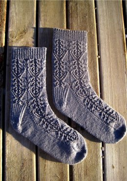 Evelyn Lace Socks