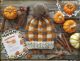 Pumpkin Pie Super Bulky Hat