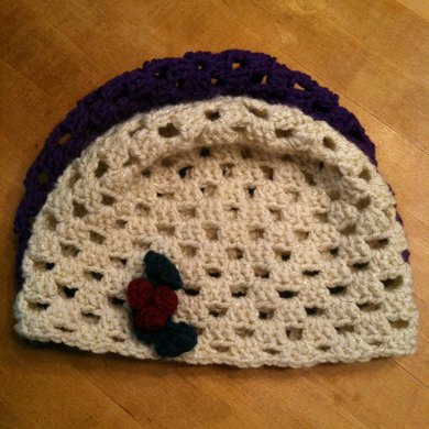 Simple Granny Square Hat