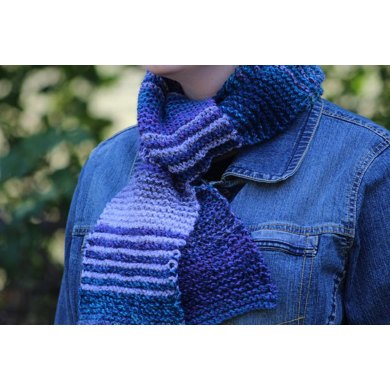 The Ubiquitous First Garter Stitch Scarf