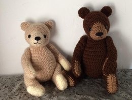 Good Old teddy bear Amigurumi