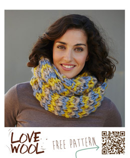 Neck Warmer in Katia Love Wool