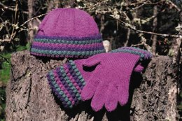 Tayberry Hat & Gloves