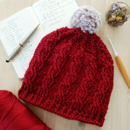 Easy Cable Hat