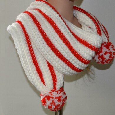 Candy Cane Combo - Scarf