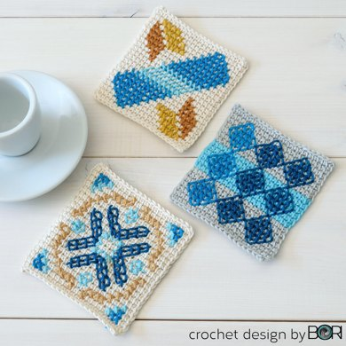 Portuguese Coffee Placemat - 009