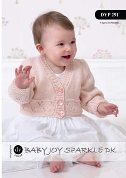 Cardigans in DY Choic Baby Joy Sparkle DK - Downloadable PDF