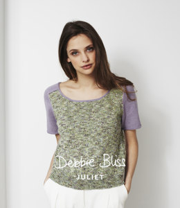 Saddle Shoulder Top in Debbie Bliss Juliet - DB021 - Leaflet