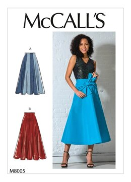 McCall's Misses' Skirts M8005 - Sewing Pattern