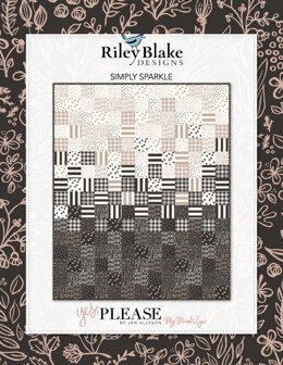 Riley Blake Simply Sparkle - Downloadable PDF