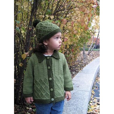 Adam&Eve Unisex Baby/Toddler Sweater and Hat
