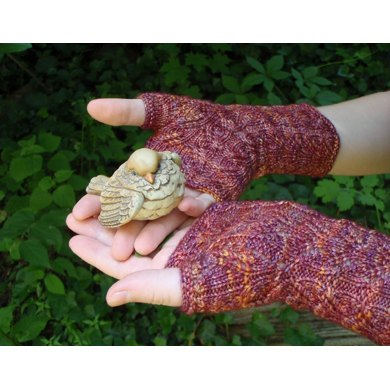 Indian Corn Mitts