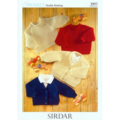 Cardigans and Sweaters in Sirdar Snuggly DK - 3957
