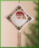Mill Hill Diamond Ho Ho Beaded Cross Stitch Kit