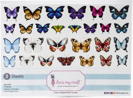 Dress My Craft Image Sheet 240gsm A4 2/Pkg - Dots N Strip