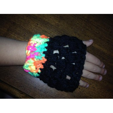 Rocker Fingerless Gloves