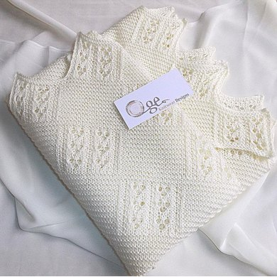 Quick Knit Baby Blanket Knitting Pattern By Oge Knitwear Designs