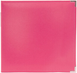"We R Memory Keepers We R Classic Leather D-Ring Album 12""X12"" - Strawberry"