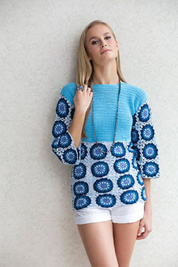 Marie Claire Tunic in Tahki Yarns Cotton Classic