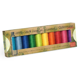 Gutermann Sew-All: Recycled: 10 x 100m: Assorted Pack #2