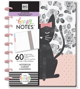 Me & My Big Ideas Happy Planner Medium Notebook W/60 Sheets - One Of A Kind, Dot Grid