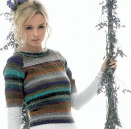 Beaded Sweater in Noro Taiyo Sock