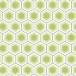 Tula Pink Bumble Honeycomb-Sprout Fabric